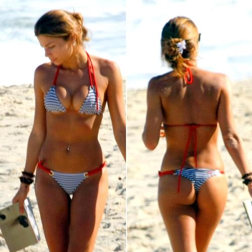 Prontas para o verão! Veja as famosas na praia e vote ...